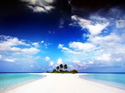 Paradise Island Wallpaper Maldives World