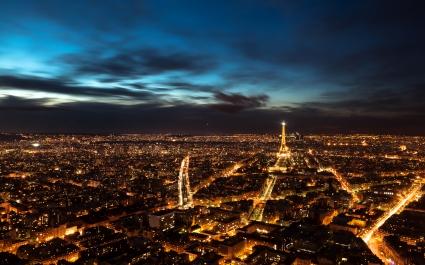 Paris Night Sky