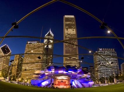 Pavilion Millennium Park Chicago Illinois