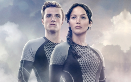 Peeta Katniss The Hunger Games Catching Fire