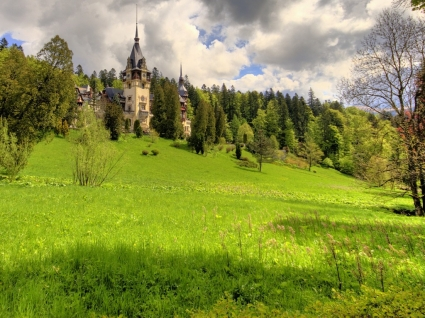 Peles Castle Wallpaper Romania World