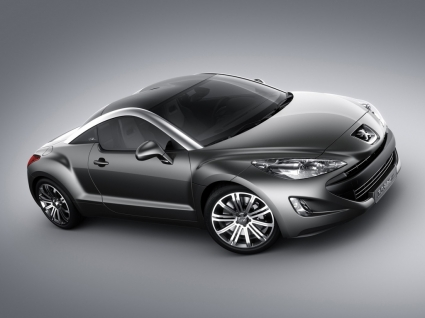 Peugeot 308 RCZ Side and Front Wallpaper Peugeot Cars