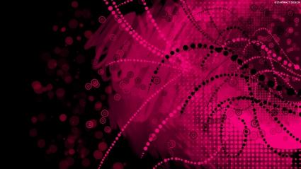 Pink Dark Vector 1080p