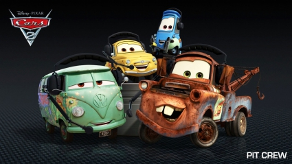 Pit Crew in Cars 2