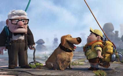 Pixar's UP Movie Widescreen