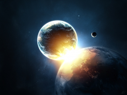 Planets Collide