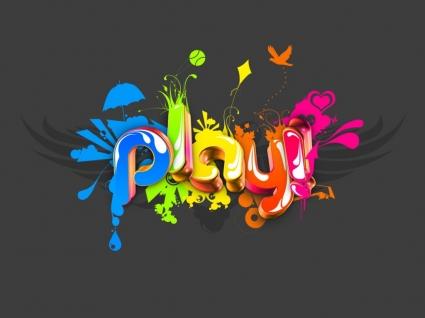 Play Wallpaper Abstract 3D