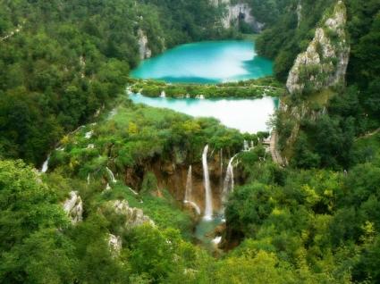 Plitvice waterfalls Wallpaper Croatia World