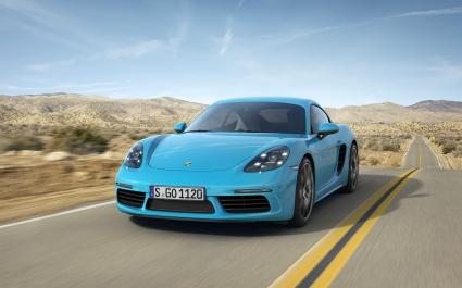 Porsche 718 Cayman 4K