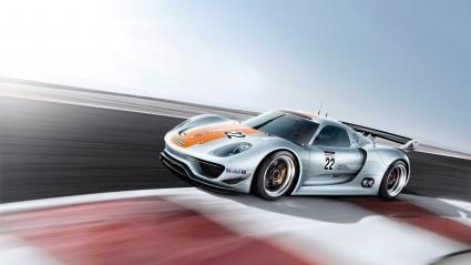 Porsche 918 RSR Speed