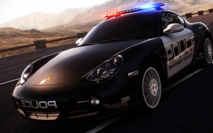 Porsche Cayman in NFS Hot Pursuit