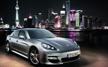 Porsche Panamera Shanghai 2010