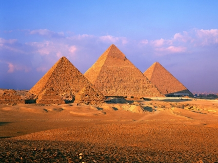 Pyramids of Giza Wallpaper Egypt World