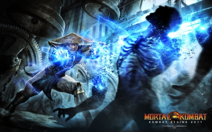 Raiden in Mortal Kombat Begins 2011