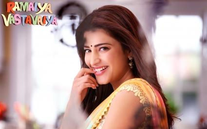 Ramaiya Vastavaiya Actress Shruti Haasan