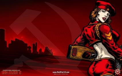 Red Alert 3 Natasha Wallpaper Red Alert 3 Games