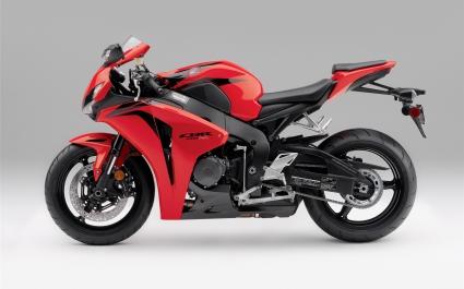 Red Honda CBR 1000RR 2009