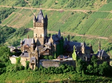 Reichsburg Castle Wallpaper Germany World