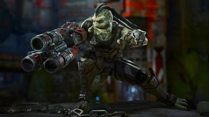 Reptilian Skaarj Unreal Tournament