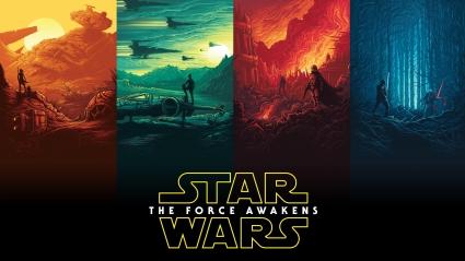Rey Finn Kylo Ren Han Solo Luke Skywalker Star Wars