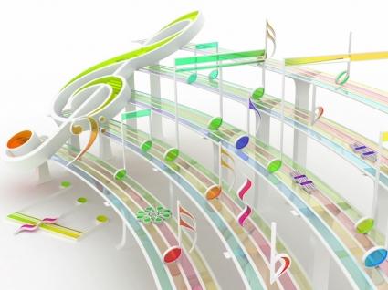 Rhythmics Wallpaper 3D Models 3D