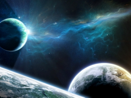 Rise and Shine Wallpaper Space Nature