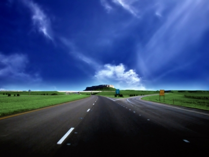 Road Wallpaper Landscape Nature
