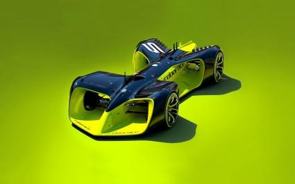 Roborace Driverless Electric Car