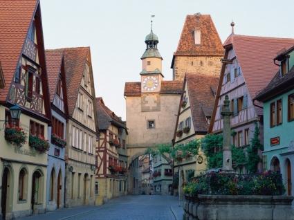 Rothenburg ob der Tauber Wallpaper Germany World