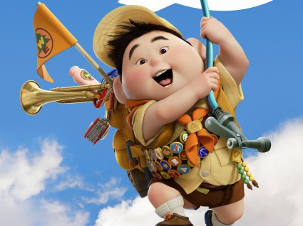 Russell Boy in Pixar's UP