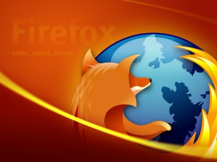 Safer Faster Better Wallpaper Firefox Computers