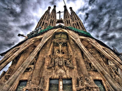 Sagrada Familia Wallpaper Spain World