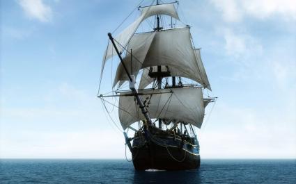 Sailing in Ocean