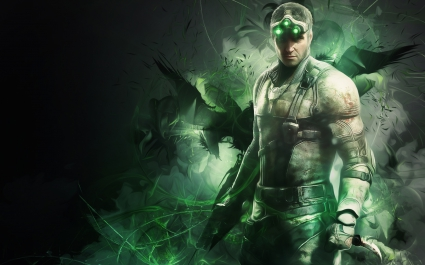 Sam Fisher in Splinter Cell