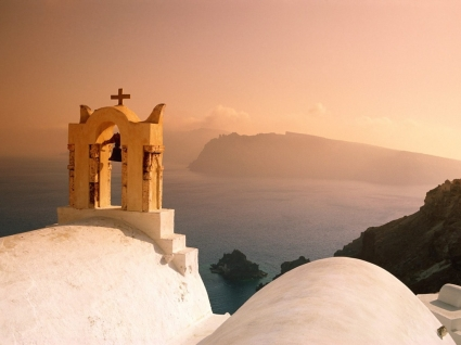 Santorini Wallpaper Greece World