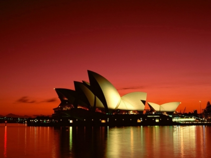 Scarlet Night Wallpaper Australia World