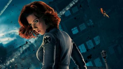 Scarlett Johansson Black Widow 5K