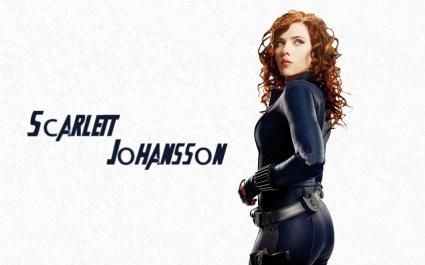 Scarlett Johansson in Avengers Movie