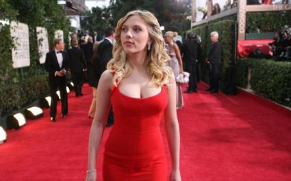 Scarlett Johansson Red Carpet