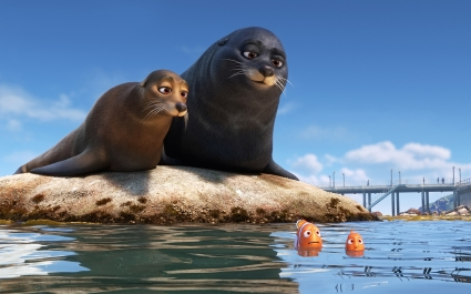 Sea Lions Marlin Nemo Finding Dory