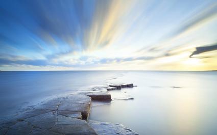 Sea Sky Horizon