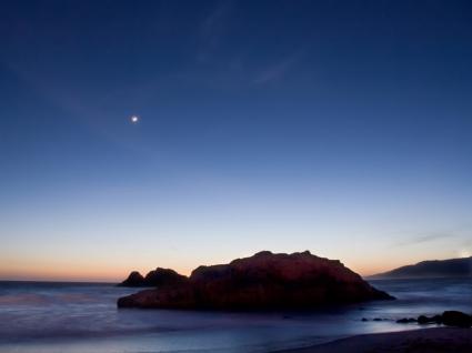 Sea solitude Wallpaper Beaches Nature