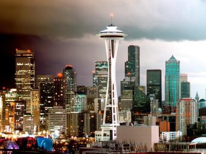 Seattle Skyline, Washington