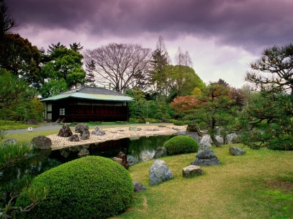 Seiryuen Garden Wallpaper Japan World