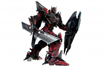 Sentinel Prime in Transformers 3