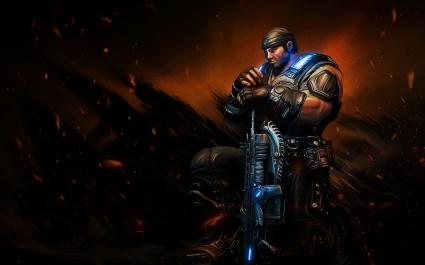 Sergeant Marcus Michael Fenix Gears of War