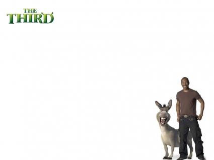 Shrek 3 Eddie Murphy Wallpaper Shrek 3 Movies