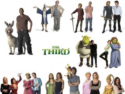 Shrek 3 voices Wallpaper Shrek 3 Movies