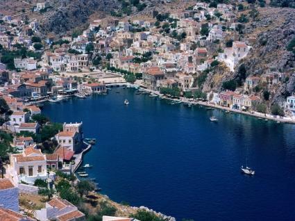 Simi Wallpaper Greece World