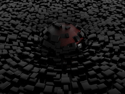 Simple 3D Shapes Wallpaper Abstract 3D